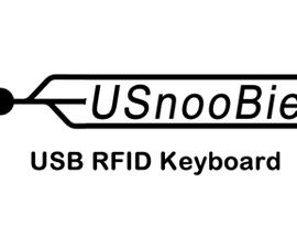 USB RFID Reading Keyboard