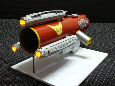 Ratchet and Clank Groovy Gun. (How to Make a Insane Ipod Amplifier)