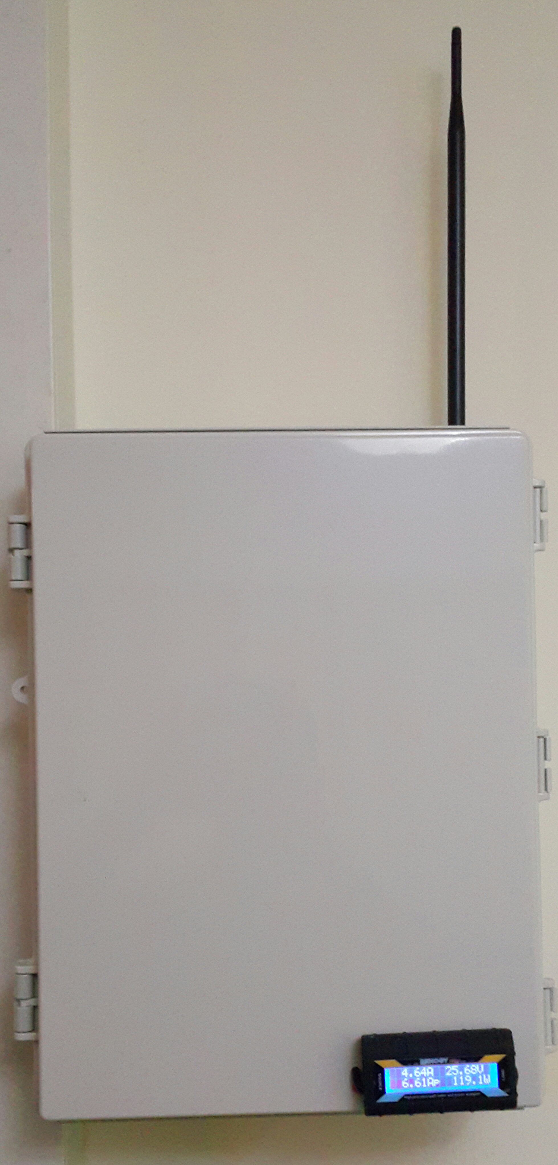 Picture of Unified Communication and Automation Cabinet.