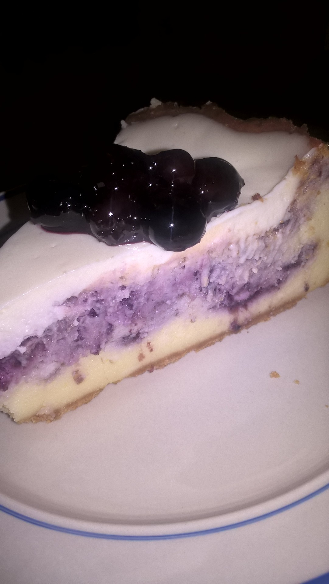 Picture of Blueberry Cheesecake