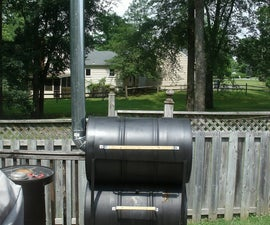 The No-Weld Double-Barrel Smoker (and How to Use It)