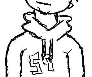 How to Draw an Awesome Cartoon Hoodie