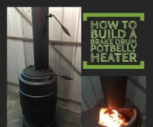 Brake Drum Potbelly Heater