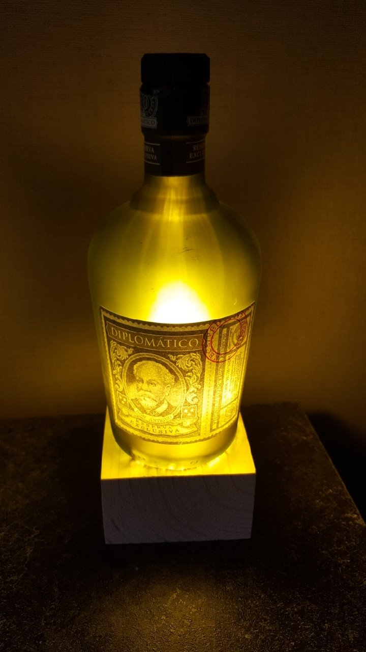 Picture of Bottle Lamp
