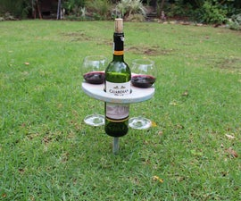 Portable Wine Stand