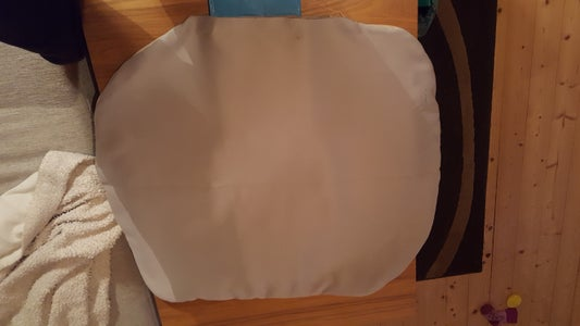 """Sew Lining of """"sack"""" Piece in Place/Futter Des """"Sacks"""""""