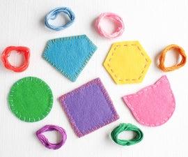 Easy DIY Felt Coasters