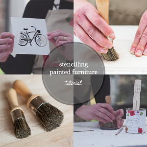 Picture of How to Use a Stencil on Painted Furniture
