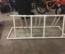 Foldable, Adjustable PVC Bike Rack