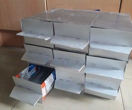 Simple Organizer of Tetrapack Storage