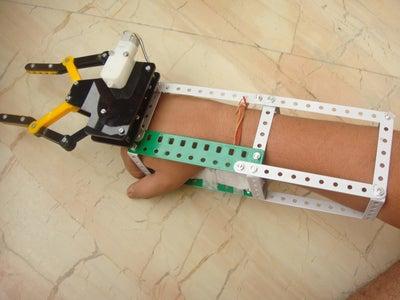 Halloween Robotic Claw