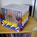 Cool K'Nex CD Rack/Holder!