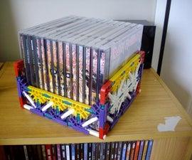 Cool K'Nex CD Rack/Holder!