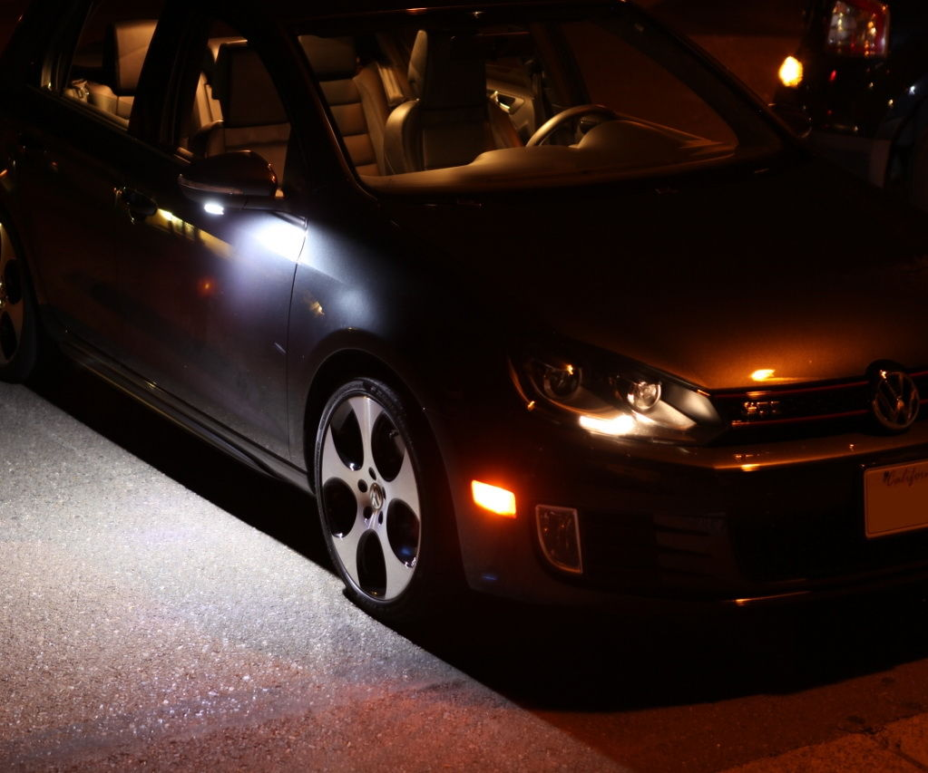 Led Lights For Cars >> How to Install LED Under Side Mirror Puddle Lights: 5 Steps