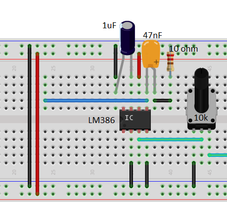 Picture of Amplifier Circuit