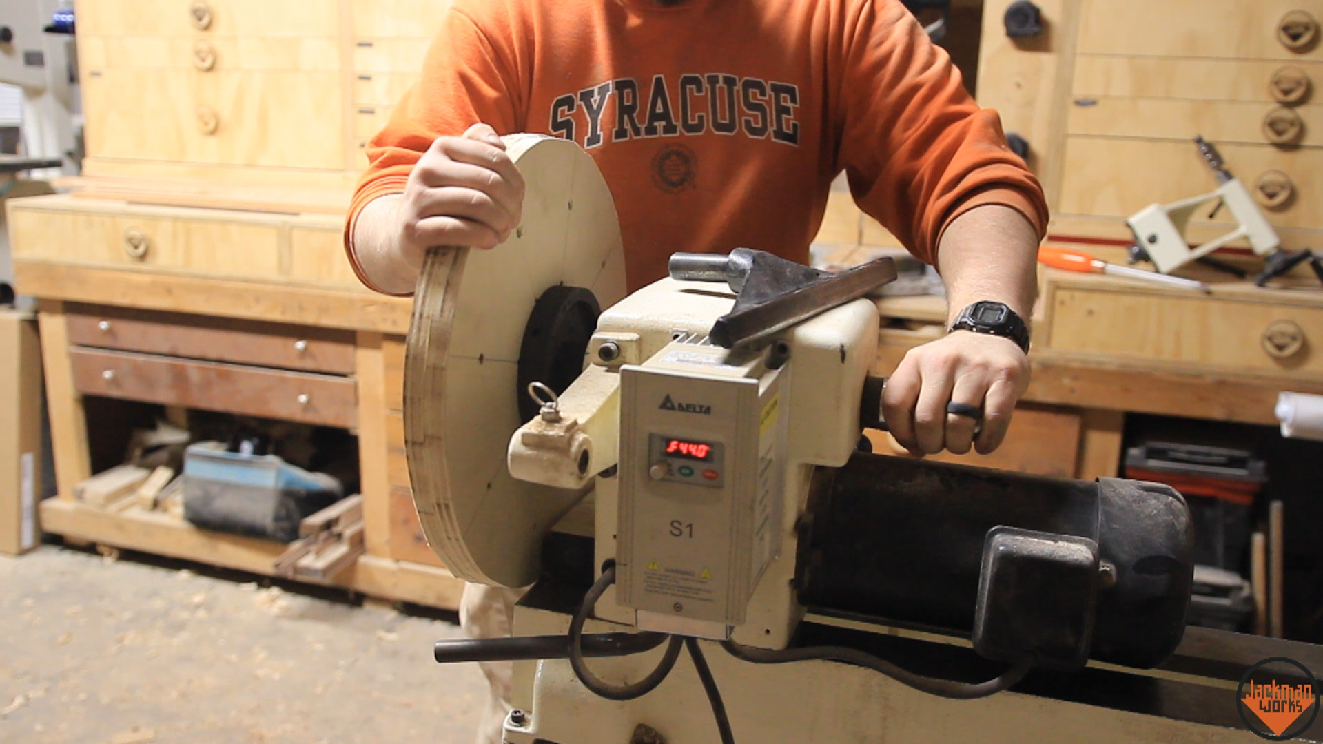 Picture of Attach to Lathe & Truing