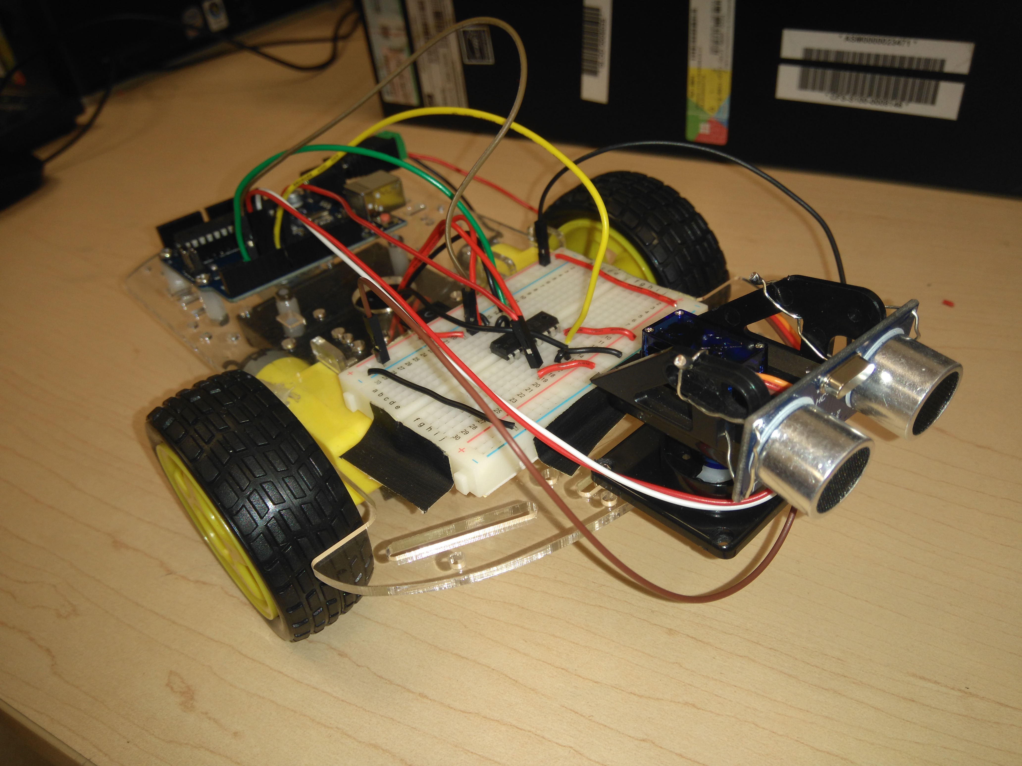 Picture of How to Make a Robot With a Sensor/DC Motor (Including Arduino)