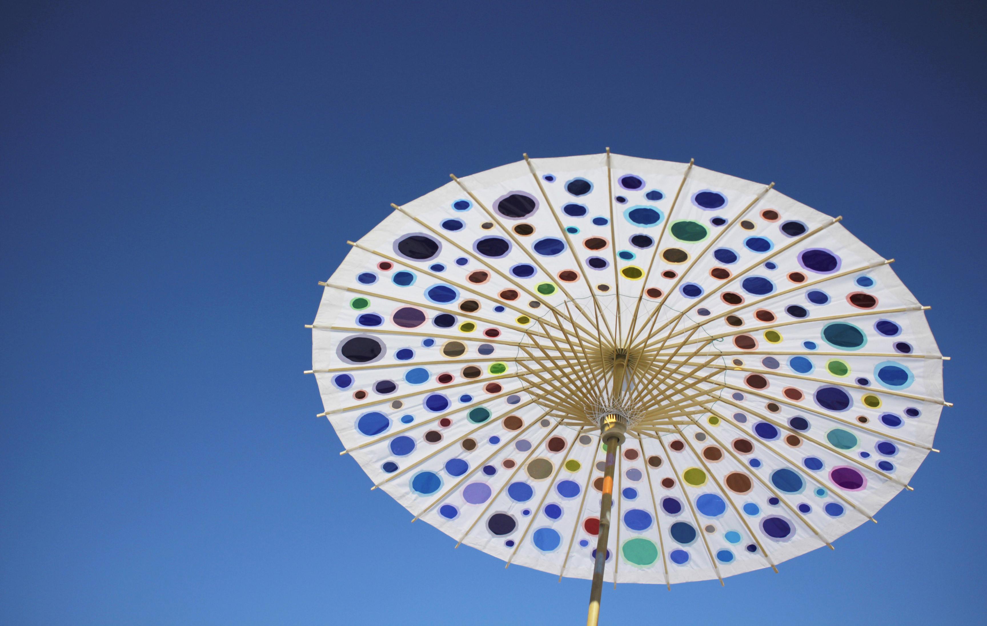 Picture of Colored Light Umbrella