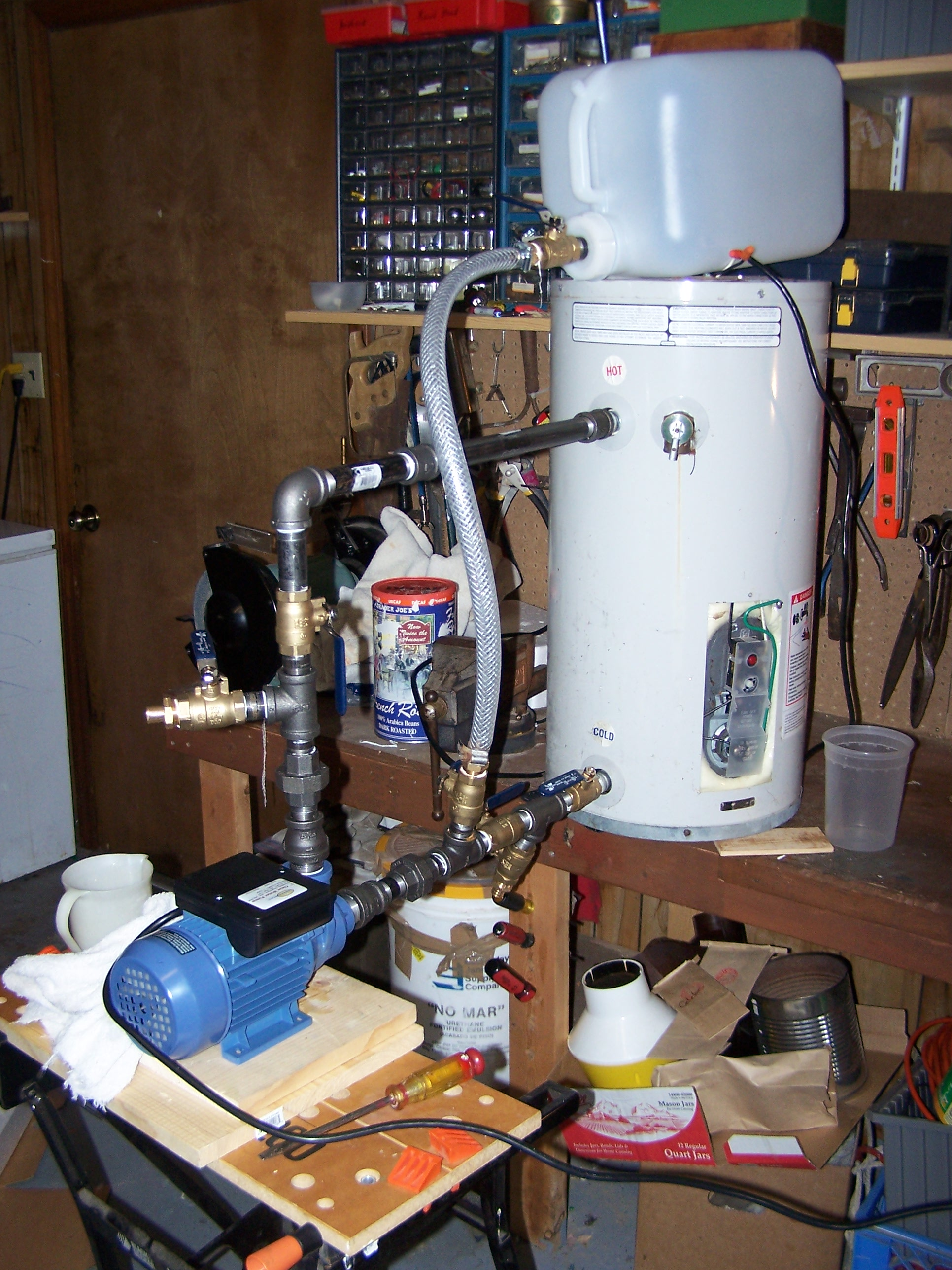 Picture of Pressure and Leak Test.