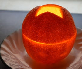 How to Make a Candle from an Orange