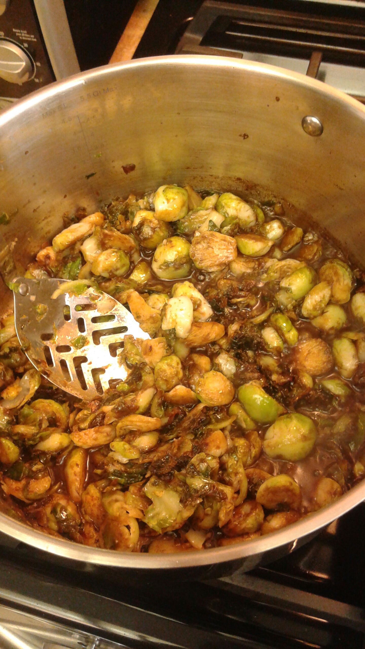 Picture of Cooking the Sprouts