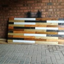 Reclaimed Pallet Wood Headboard