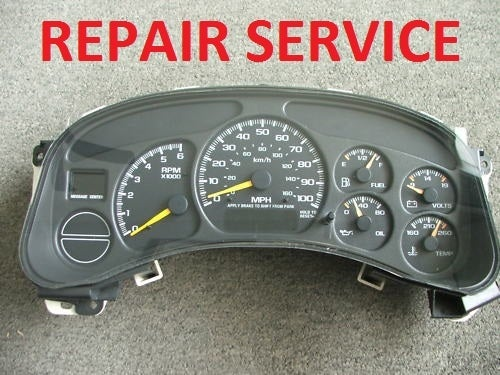 Odometer Wiring Diagram Chevy on