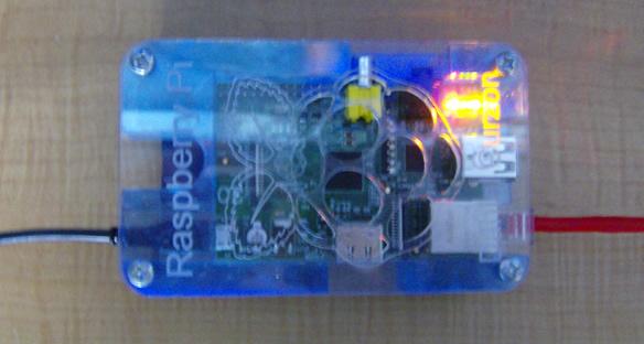 Picture of Raspberry Pi Web Server