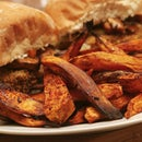 Balsamic Chilli Sweet Potato Fries