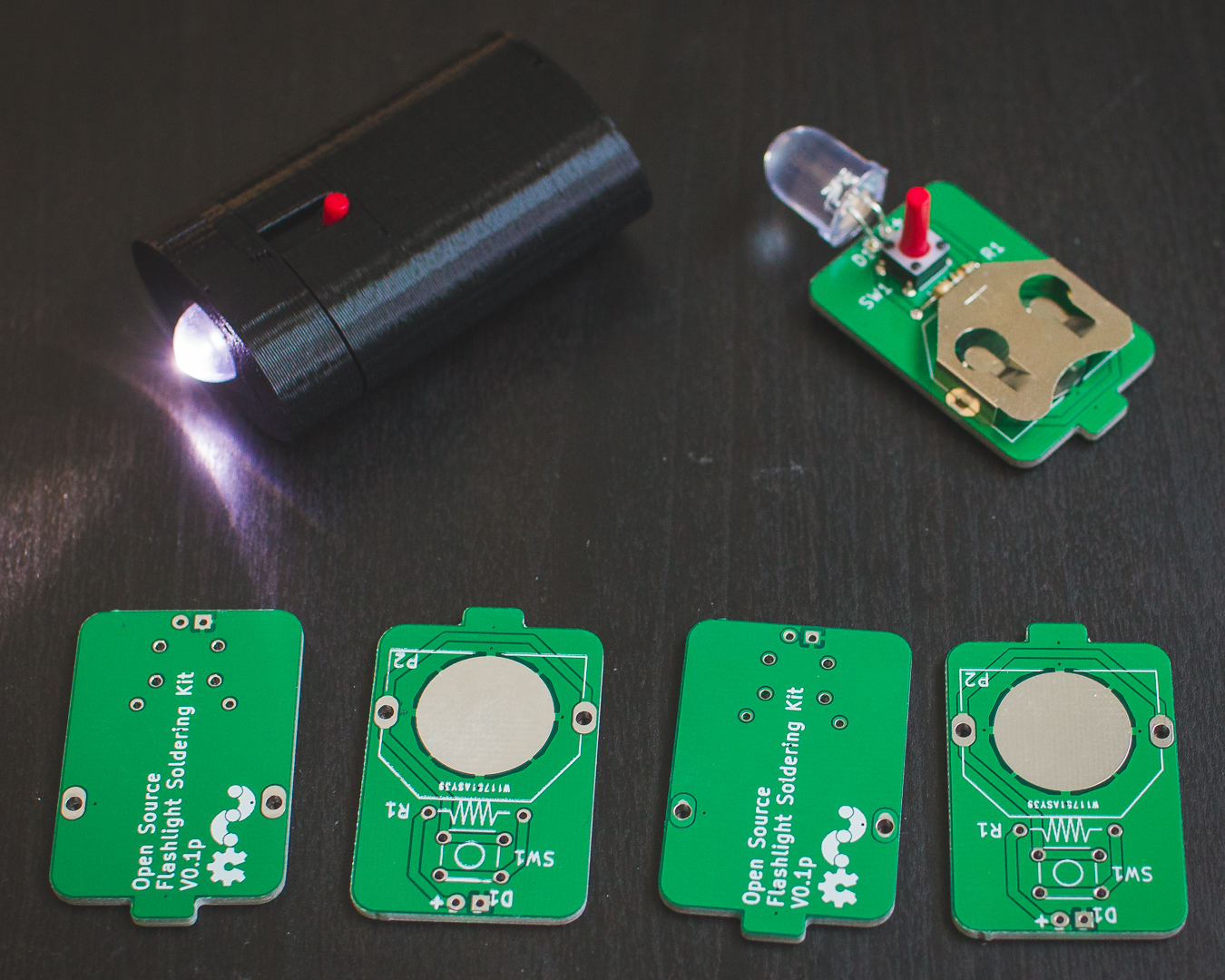 Picture of Open Source Flashlight Kit