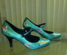 Glitter Sticker Shoes