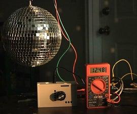 PWM Variable Speed Disco Ball