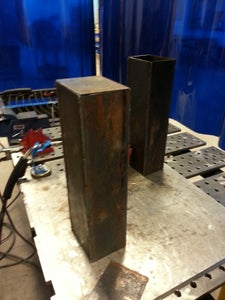 Welding & Final Cleanup