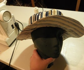 Beginner Sewing - Make a summer hat pattern from scratch
