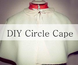 DIY Circle Cape Stop Motion Tutorial