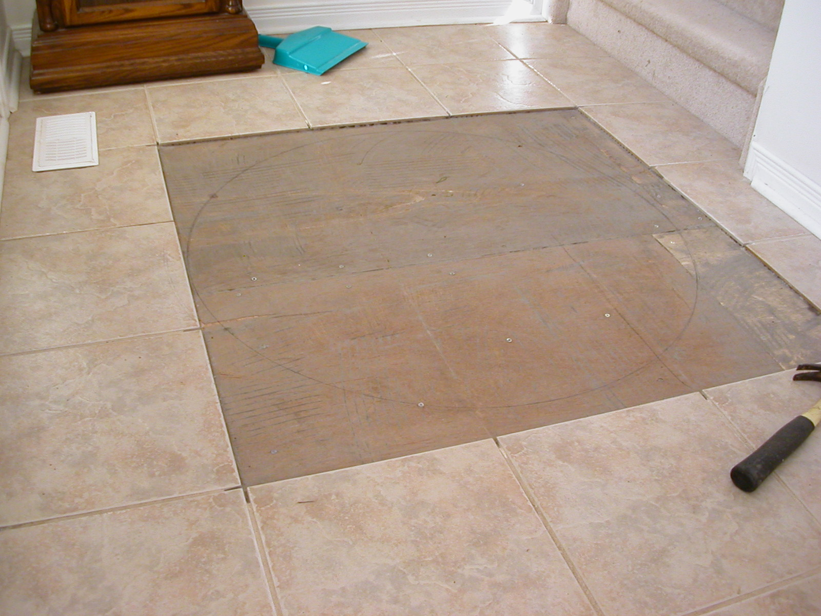 Picture of Remove Some Floor Tile