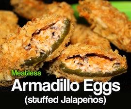 Armadillo Eggs (stuffed Jalapenos)
