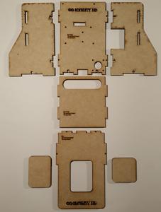 Step 1 – Frame Pre-assembly