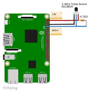 DS18B20 - Temperature Sensor