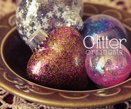 Glitter Ornament DIY