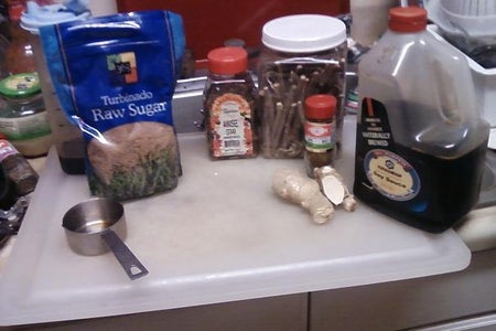 Beef Tendon Step 2: Prepare Spices&herbs!
