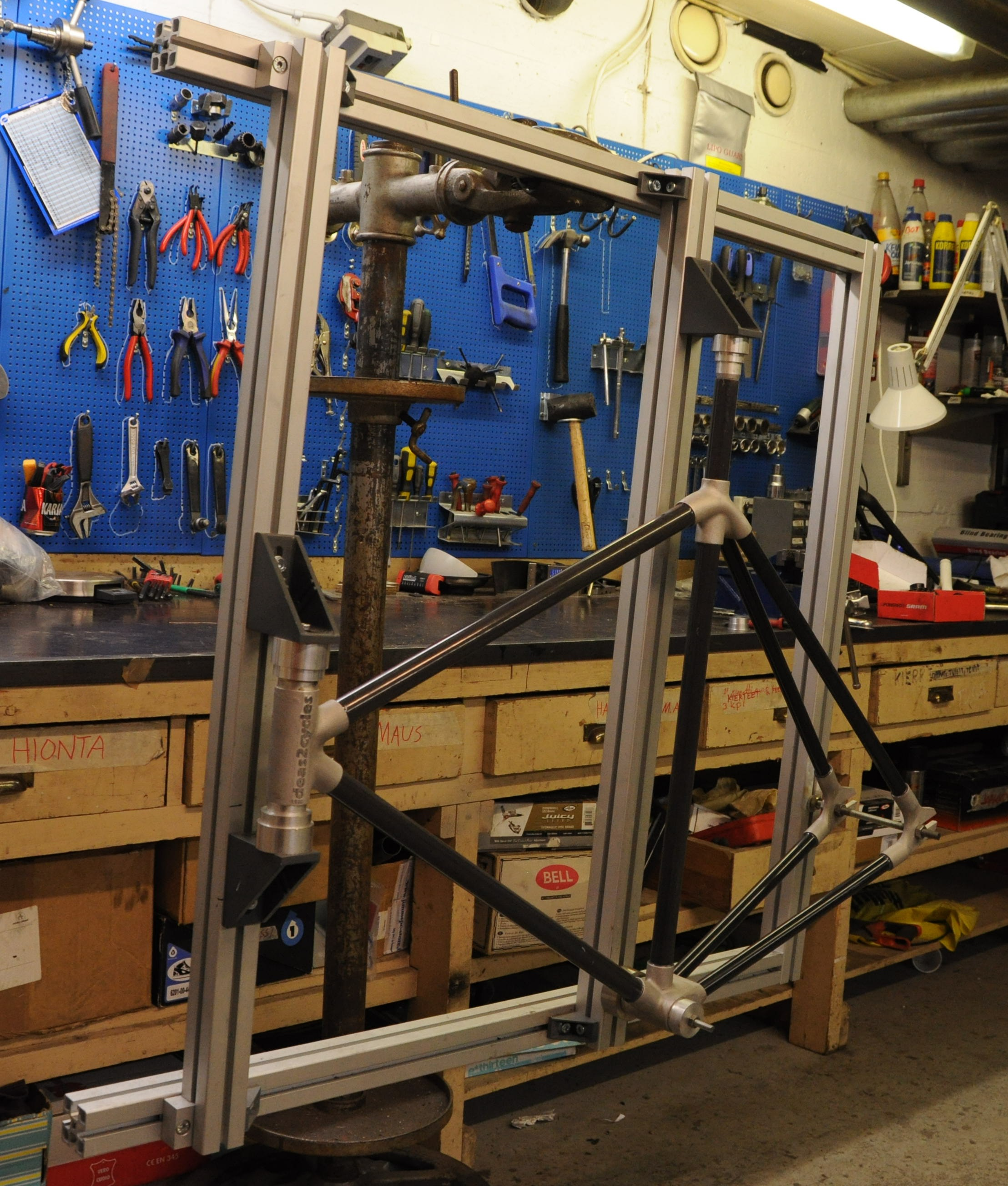 Picture of Case Study: Lugged Tube Frame