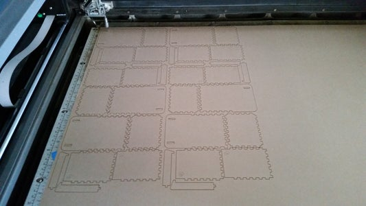 DXF to Laser Cutter