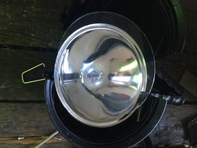 Take Apart the Spotlight/flashlight