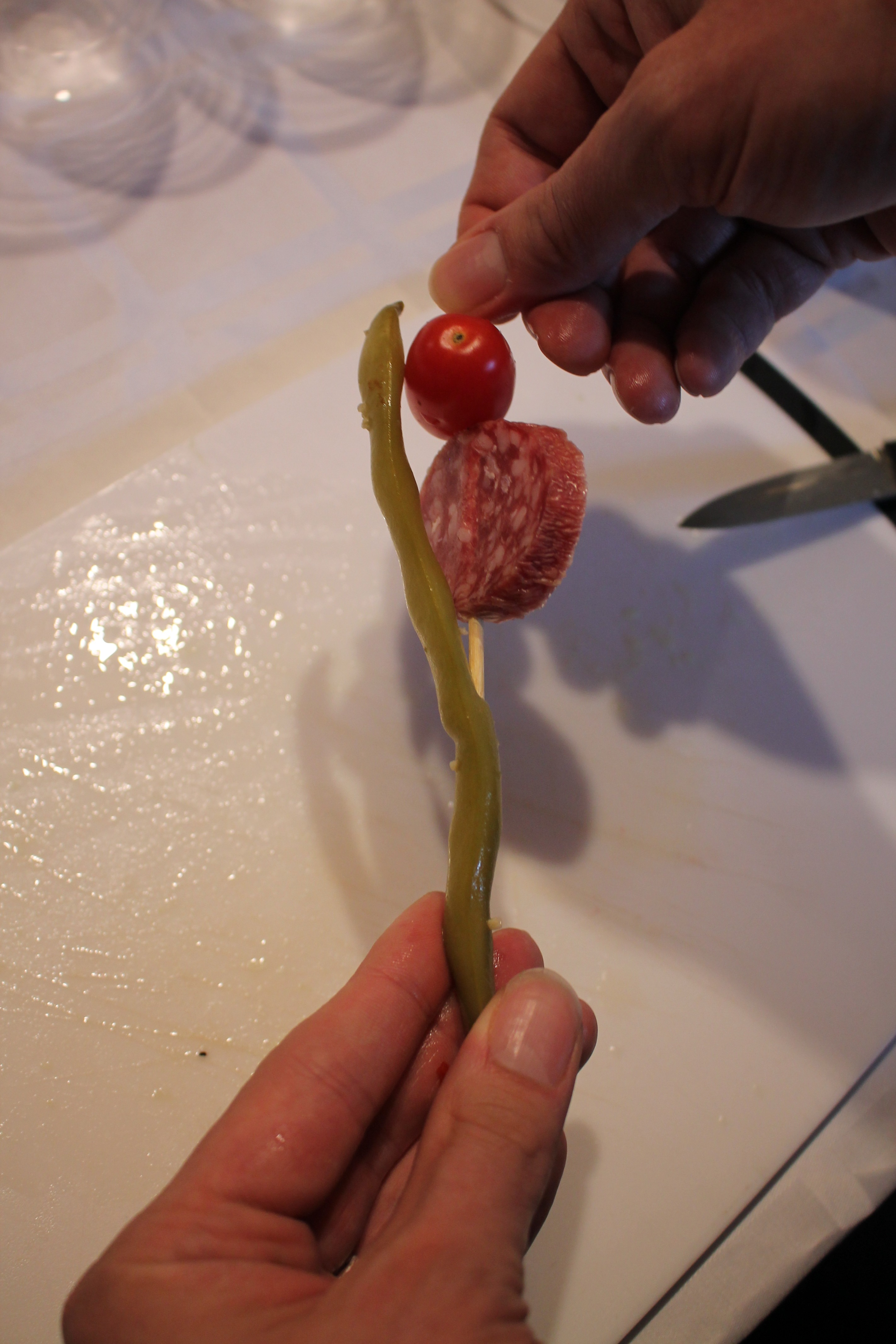 Picture of Make the Garnishes