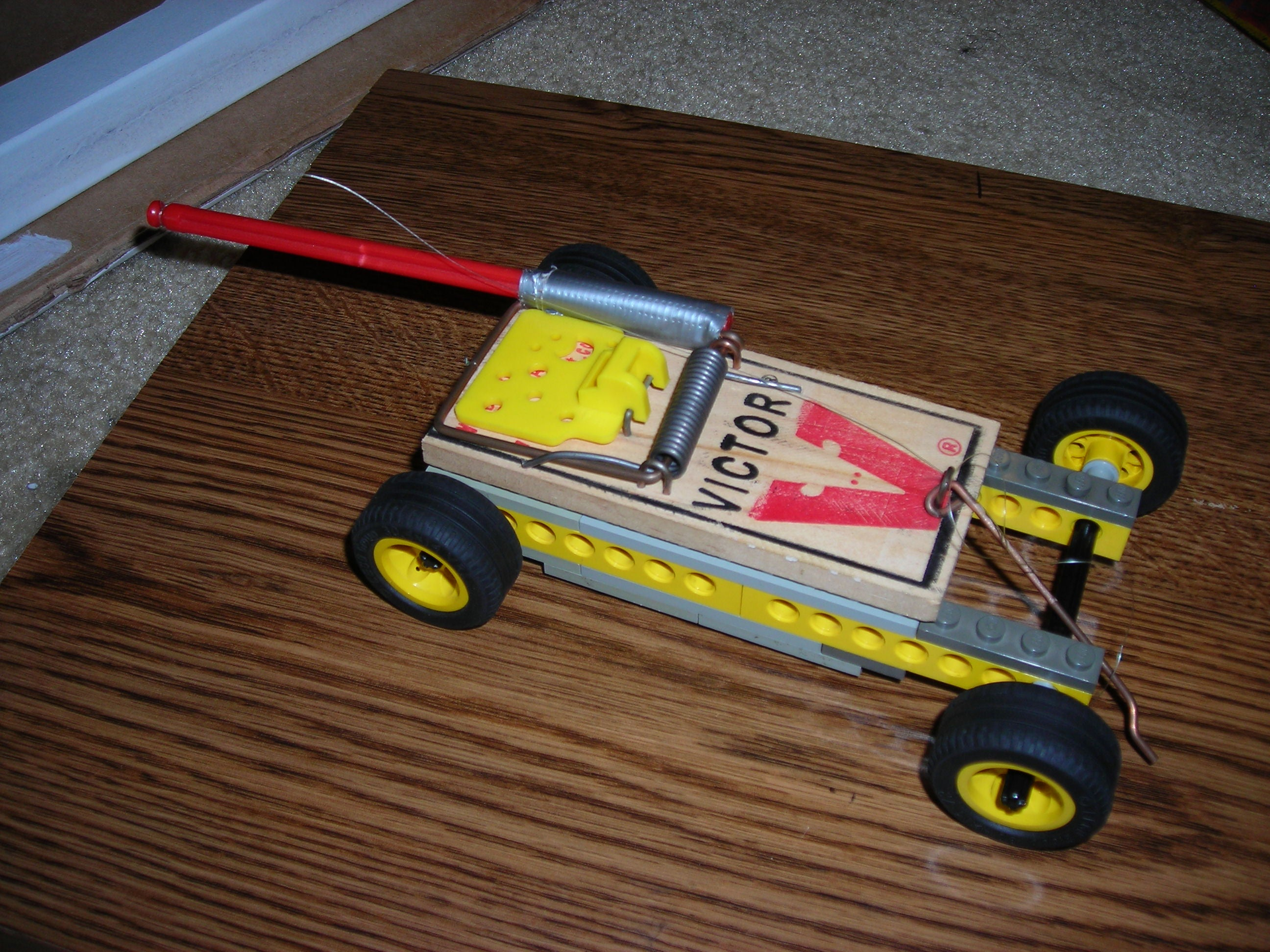 Lego Mousetrap Car 14 Steps Instructables