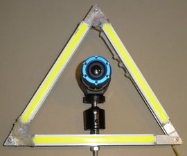 """Large LED """"ring"""" Light for Timelapse, Portraits and More..."""