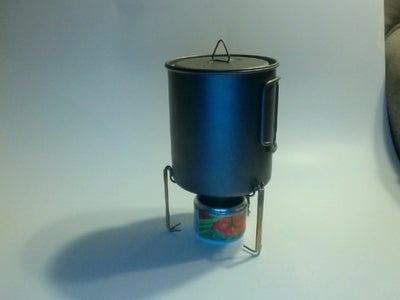 Ultra Light Pot Stand for Alcohol Stove