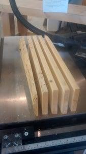 Rip Log Into Boards