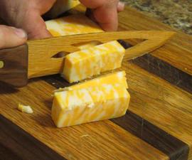 Wood Cheese Slicer
